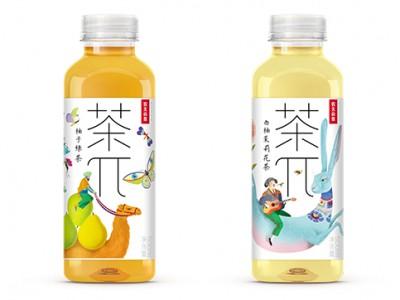 农夫山泉茶 π 插画包装
