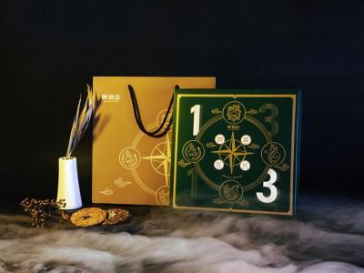 陕西食品礼盒包装设计(国风特色)