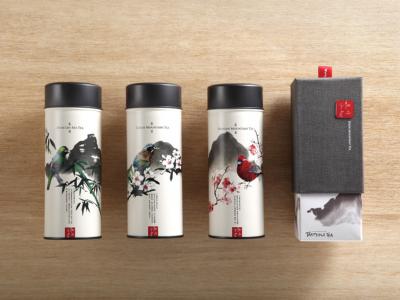 台湾茗茶包装设计(国风特色)
