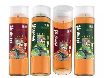 台湾统一茶里王无糖茶饮包装设计