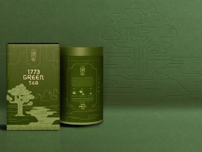 萨克斯特茶叶包装设计